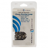 """Replacement Chain Loop Clamshell 72DL 3/8"""", .050, S-Chisel Standard"""