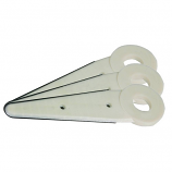 Replacement Trimmer Blades .490 Center Hole