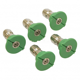 Replacement Quick Coupler Nozzle Set 25 Degree, Size 5.0, Green