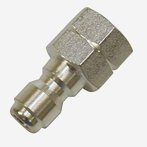 "Replacement Quick Coupler Plug Female 1/4"" Female Inlet"